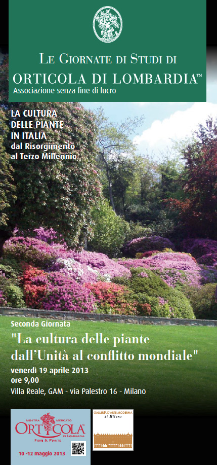 Giornata di Studi di Orticola di Lombardia 2013