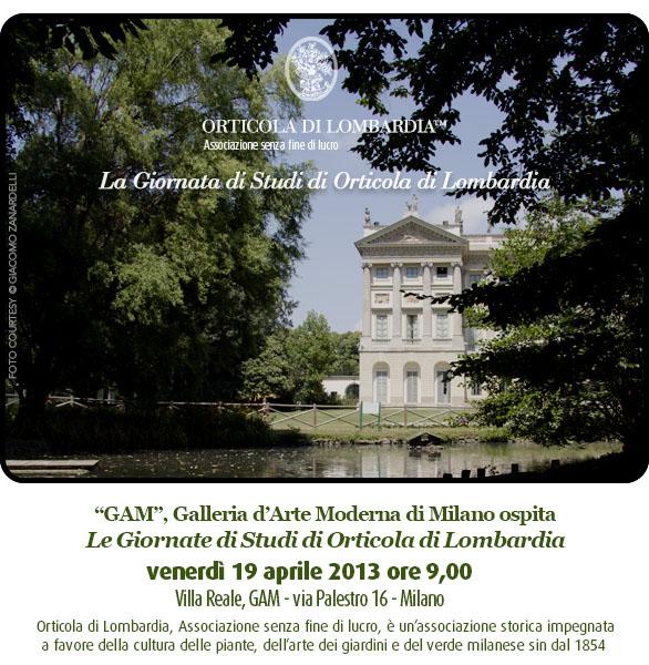 Villa Reale GAM Milano vista dal laghetto