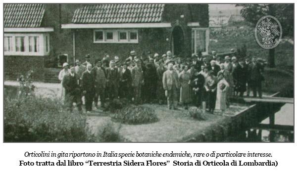 Orticola di Lombardia - Giornata di Studi - Orticolini in gita
