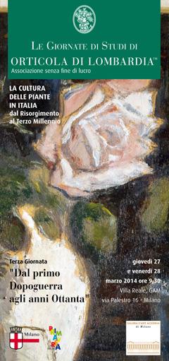 Giornata di Studi di Orticola di Lombardia 2014