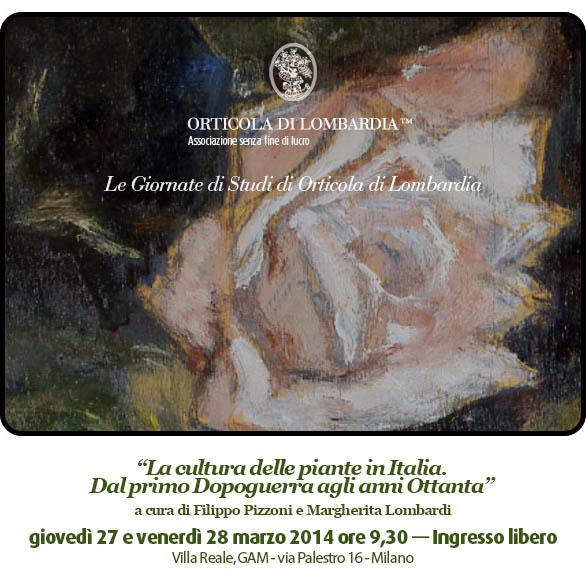 Giornata di studi di Orticola. Rosa Tea di Arturo Tosi