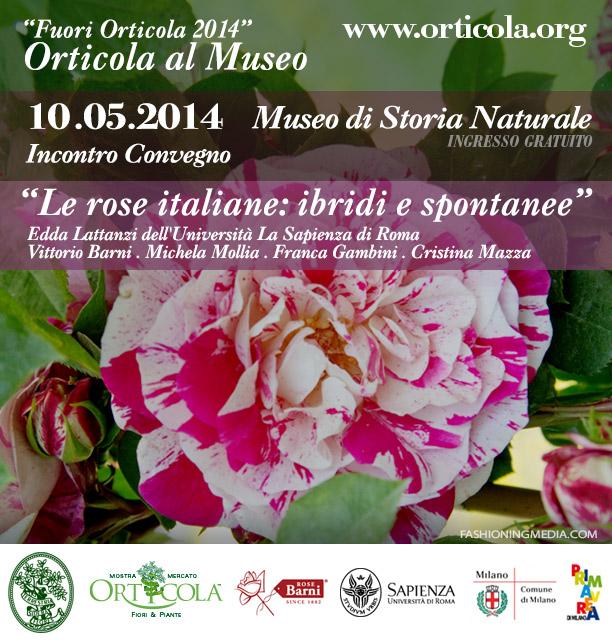 Fuori Orticola 2014 Le rose italiane ibride e spontanee