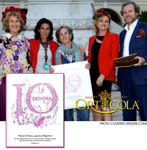 Orticola 2014 Premio Io-donna Eberhard
