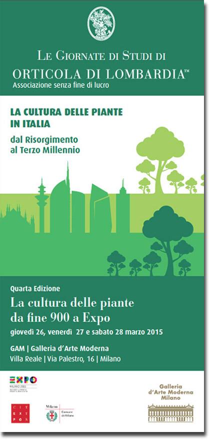 Giornata di Studi di Orticola di Lombardia 2015