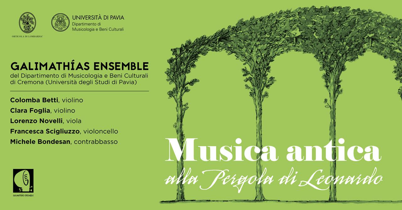 Musica antica alla pergola di Leonardo