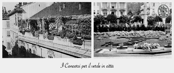 1926 Concorso - Verde in città