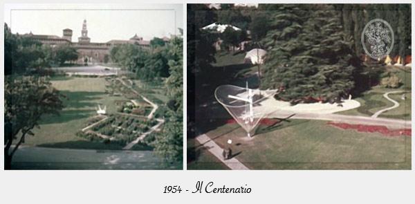 1954 il Centenario di Orticola di Lombardia