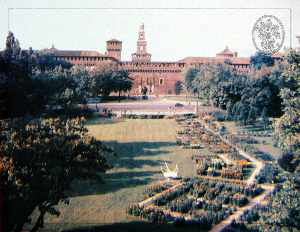 1954 Orticola di Lombardia al parco Sempione