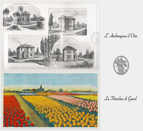 1959 Ambrogino d'oro e le floralies di Gand