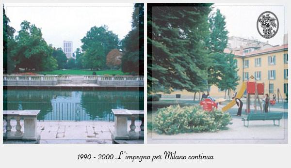 1990-2000 Orticola di Lombardia e l'impegno per Milano