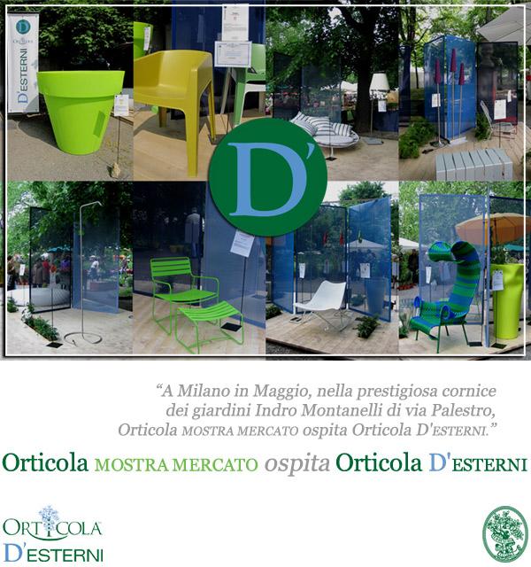 Orticola Mostra mercato ospita Orticola D'Esterni