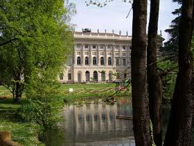Giardini Villa Reale a Milano
