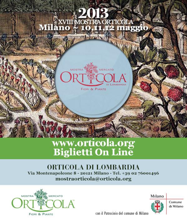 Mostra Orticola 2013 Icona con Giardino